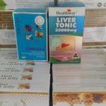 Vitatree 4 Complex 1 ปุก ขนาด 60 เม็ด + ดีท๊อกซ์ตับ healthway 35,000 mg. 1 ปุก 100 เม็ด ขาวเนียน เด้ง เด็ก ครบจ้า