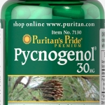 ลดฝ้า บำรุงผิว Puritan's Pride Pycnogenol 30 mg ขนาด 30 Capsules