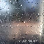 "PVC สูญญากาศติดกระจกป้องกัน UV ""ลายใบไม้ใบเล็ก"" หน้ากว้าง 90 cm"