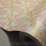 "Wallpaper Sticker แบบมีกาวในตัว ""ลายไทย หลุยส์ Sweet Antique"" หน้ากว้าง 122 cm ตัดแบ่งขายเมตรละ 250 บาท"