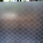 """PVC สูญญากาศติดกระจก """"White vintage shape"""" หน้ากว้าง 90 cm ราคาต่อเมตร 250 บาท (ตัดความยาวต่อเนื่อง)"""