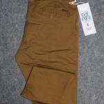 """กางเกง สแลค ผ้ายืด ผู้ชายอ้วน ทรงกระบอกเล็ก (สีกากี) 40-46"""""""