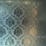 "PVC สูญญากาศติดกระจก ""Antique"" หน้ากว้าง 90 cm ราคาต่อเมตร 270 บาท"