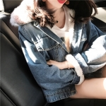 Jeans Fleece coat