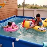 กระตุ้นพัฒนาการทารกด้วย การว่ายน้ำตั้งแต่แรกคลอด