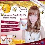 นมผึ้งออสเวย์ 1600 mg. (Sizeเล็ก กล่องขนาด 100 เม็ด) จากออสเตรเลีย Premium Bee Product