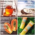 Fix Organic Pawpaw Manuka Homey Blam ลิปบาล์มที่บล็อคเกอร์ไทยและต่างประเทศแนะนำ มีอย.