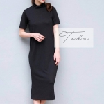 Turtle Dress Cotton Spandex