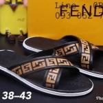 รองเท้าแตะผู้ชาย สวม x กากบาท ลาย FF ไซต์ 38-43 สีดำ