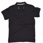 Basic Polo สีดำ M-4XL (Changyim) ผ้าจุติ