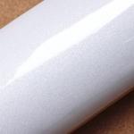 """สติ๊กเกอร์ไฮกลอสสำหรับตกแต่งเฟอร์นิเจอร์ """"สีขาวมุก"""" หน้ากว้าง 122 cm ตัดแบ่งขายตามความยาว เมตรละ 250 บาท ตัดแบบต่อเนื่อง"""