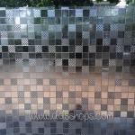 "PVC สูญญากาศติดกระจกป้องกัน UV ""Basic Cube"" หน้ากว้าง 90 cm ตัดแบ่งขาย เมตรละ 290 บาท"