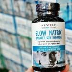 Glow Matrix Skin Hydrator,Neocell อาหารเสริมเพื่อผิวเปล่งปลั่ง อ่อนเยาว์ ใน 15 วัน ขนาด 90 เม็ด