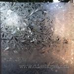 """PVC สูญญากาศติดกระจกกัน UV """"Flowers II"""" หน้ากว้าง 90 cm ตัดแบ่งขาย เมตรละ 290 บาท"""