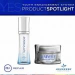 Jeunesse Luminesce Daily Moisturizing Complex เดย์ครีม + Jeunesse Luminesce Advanced Night Repair ไนท์ครีม