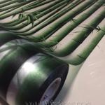 """สติ๊กเกอร์ติดกระจกแบบมีกาวในตัว """"ไผ่ลำต้นเขียว"""" ความสูง 90 cm ตัดแบ่งขายเมตรละ 189 บาท (ขั้นต่ำ 3m)"""