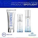 Jeunesse Luminesce set สูตรสำหรับกลางวัน ชุดบำรุงผิวเทคโนโลยีสเต็มเซลล์