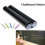 แพคคู่ สติ๊กเกอร์กระดานดำ Chalkboard Sticker ขนาด 60 cm x 200 cm จำนวน 2 ม้วน