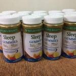 Nature's Bounty Sleep Complex Gummies 60 Gummies วิตามินสำหรับท่านที่หลับยาก มีปัญหาเรื่องการนอนหลับ หรือเดินทางแล้วมีอาการ jet lag ตัวนี้ช่วยได้