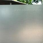 """สติ๊กเกอร์ติดกระจกแบบมีกาวในตัว """"White Cube"""" ความสูง 90 cm ตัดแบ่งขายเมตรละ 159 บาท (ขั้นต่ำ 3m)"""