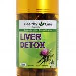 Healthy care Liver Detox 100 capsules บำรุงตับ ล้างพิษในตับ จากออสเตรเลีย