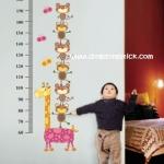 """ลดล้างสต็อก สินค้าลดราคา 50% ที่วัดส่วนสูง """"ที่วัดส่วนสูงตุ๊กตาไม้"""" สเกลเริ่มต้น 60 cm ถึง 180 cm"""