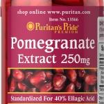 สารสะกัดผลทับทิม Puritan's Pride Pomegranate Extract 250mg /60 capsules