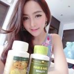นมผึ้งmaxi 1 ปุก 120 เม็ด + hair and nail Beauty 1 ปุก 60 เม็ด เซตทานบำรุงผมสวย เล็บสวย พร้อมผิวสวย และสุขภาพดีด้วย
