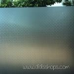 "PVC สูญญากาศติดกระจก ""Modern Circle II"" หน้ากว้าง 90 cm ราคาต่อเมตร 270 บาท"