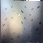 """PVC สูญญากาศติดกระจก """"Leaf Static"""" หน้ากว้าง 90 cm ราคาต่อเมตร 250 บาท"""