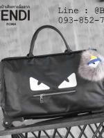 กระเป๋าเดินทาง ผ้าใบมีล้อลาก สไตล์ฟินดิ 22 นิ้ว