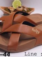 รองเท้าแตะผู้ชาย Fully xosa สวมสายคาด ชาย
