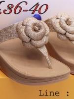 รองเท้าเพื่อสุขภาพ Fully หูหนีบดอกไม้ florent