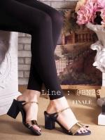 รองเท้า FINALE ซ้นสูง สวมสายคาด