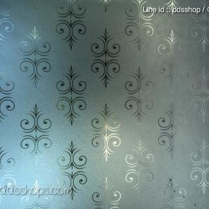"PVC สูญญากาศติดกระจก ""Vintage theme"" หน้ากว้าง 90 cm ตัดแบ่งขายเป็นเมตร เมตรละ 270 บาท"