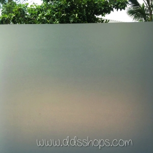 "PVC สูญญากาศติดกระจก ""White Static Film"" หน้ากว้าง 90 cm ราคาต่อเมตร 270 บาท"