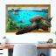 """สติ๊กเกอร์ติดผนัง 3D """"เต่าทะเล"""" ความสูง90 cm ความกว้าง 60 cm thumbnail 1"""