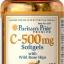 Puritan's Pride Vitamin C-500 mg with Bioflavonoids & Rose Hips ขนาด 100 Softgels thumbnail 1