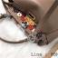 กระเป๋าถือ peekaboo สไตล์ฟินดิ 9 นิ้ว ประดับดอกไม้ thumbnail 4