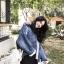 Jeans Fleece coat thumbnail 8