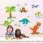 """สติ๊กเกอร์ติดผนัง สำหรับห้องเด็ก """"DinoSour II"""" ความสูง 70 cm กว้าง 130 cm thumbnail 1"""