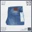 """40-48"""" กางเกงยีนส์ ขายาว BIGSIZE ทรงกระบอกเล็ก #6101 thumbnail 4"""