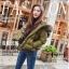 PRE Faux Fur Hooded Down Coat - short thumbnail 11