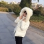 PRE Faux Fur Hooded Down Coat - short thumbnail 40