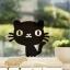 """สติ๊กเกอร์ติดปลั๊กไฟ """"Cute Cat"""" ขนาดซองบรรจุ 15 x 12 cm thumbnail 1"""