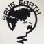 """สติ๊กเกอร์ติดปลั๊กไฟ """"Save Earth สีดำ"""" ขนาดซองบรรจุ 15 x 12 cm thumbnail 2"""