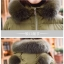 PRE Faux Fur Hooded Down Coat - short thumbnail 32