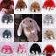กระเป๋ากระต่ายขนปุย สายโซ่ทอง 8 นิ้ว thumbnail 2