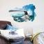 """สติ๊กเกอร์ติดผนัง 3D """"Surfing"""" ความสูง 60 cm ความกว้าง 90 cm thumbnail 1"""