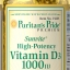 วิตามินดี 3 Puritan's Pride Vitamin D3 1000 IU /100 Softgels thumbnail 1